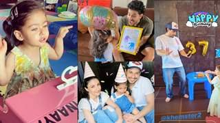 Inaaya Sings Happy Birthday Papa for Kunal; Her Cute Video is Breaking the Internet; Paints Him a Beautiful Wish too