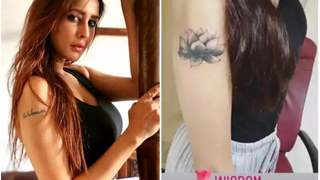 Chahatt Khanna Redesigns Tattoo To Cover-up Estranged Husband, Farhan Mirza's Name