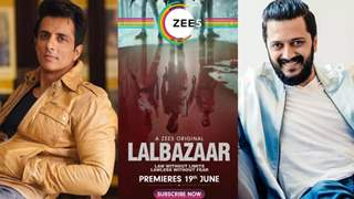 Sonu Sood and Riteish Deshmukh review the latest police drama 'Lalbazaar'!