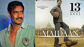 Ajay Devgn reveals Maidaan's Release Date; Plans to celebrate Independence week in 2021!