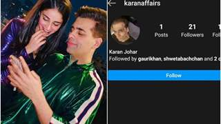 Karan Johar Has Another Private Instagram Account; Ananya Panday, Suhana Khan, Shweta Bachchan Follow