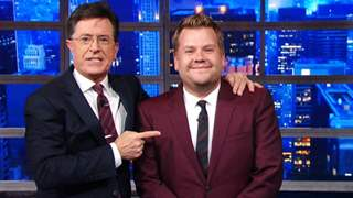 'The Late Late Show With James Corden' & 'The Late Show With Stephen Colbert' Return To Studios