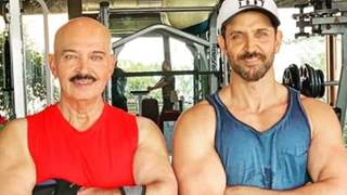 "Hrithik Roshan Suspects ""We Are Growing Up"" Wishing Father Rakesh Roshan on His 71st Birthday"
