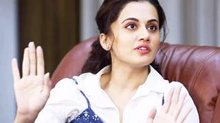 """I also want to know why the A-lister male actors are silent"" - Taapsee Pannu"