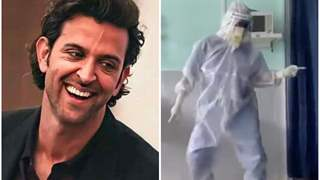 Hrithik Roshan applauds covid duty doctor dancing on Ghungroo; Check his reply here