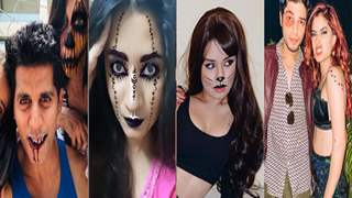 TV Celebs spook everyone out with their Halloween looks