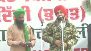 Diljit Joins Protest at Singhu Border For Farmer's Demands