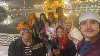 Cast of Kyun Utthe Dil Chhod Aaye seek blessings at Golden Temple for their show