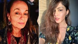 "Soni Razdan supports Rhea Chakraborty: ""She was an innocent victim of a very twisted design"""