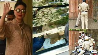 Kareena leaves hospital with newborn; Cops stationed outside Pataudi home: Photos-Videos