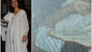 Kareena Kapoor's baby boy sleeps in nanny's arms; Check out the first glimpse!