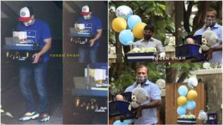 Kareena-Saif's 'baby #2' naming ceremony: Gifts and balloons arrive for the newborn baby; See Pics!