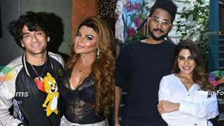 Rakhi hosts a 'Bigg Boss' reunion bash; Nikki, Jaan, Vikas & others come in
