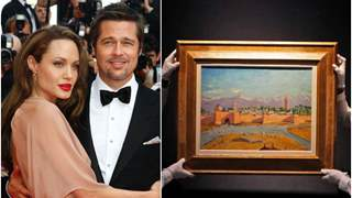 Angelina Jolie sells Winston Churchill painting gifted by ex-husband Brad Pitt for a whopping amount