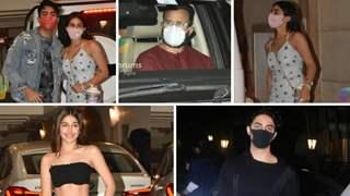 Ibrahim Ali Khan birthday: Sara flaunts unicorn bag, Kareena missing; Aryan Khan, Alaya F attend party in style