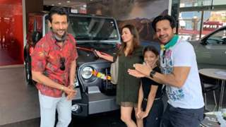 Barkha gifts husband Indraneil luxury car after keeping it a surprise for four months
