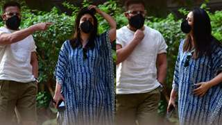 Kareena's first outing; Saif looks angry, Couple had a disagreement it seems: Photos