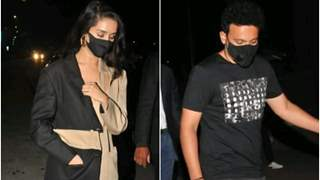 Shraddha Kapoor and Rohan Shrestha step out for a dinner date: Duo avoids posing together for paps; see pics!