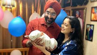 Singer Harshdeep Kaur announces name of newborn son with super cute picture