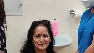 Himani Shivpuri on getting vaccinated for COVID-19