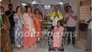 Hrithik Roshan misses Maha Shivratri Puja; sister Sunaina joins Rakesh Roshan and family