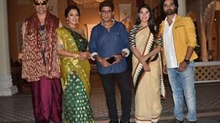 Team Anupamaa visits Mann Kee Awaaz Pratigya 2 on sets to wish them luck
