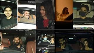 Alia Bhatt Birthday: Deepika-Ranveer, Malaika-Arjun, and other celebs arrive for a party at Karan Johar's house; see pics!