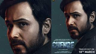 Tensed eyes, Stressed look, Intriguing first look of Emraan Hashmi from Chehre