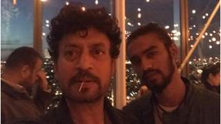Babil Khan tries twinning with father Irrfan Khan; shares throwback photos with late actor!