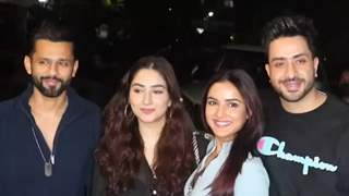 Aly-Jasmin & Rahul-Disha head out on a double date