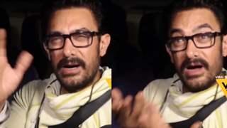 """Aap log apni theories mat lagaye"": Aamir Khan reacts: Video"