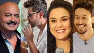 Daddy Rakesh, Preity, Tiger and more react; Hrithik Roshan gives sassy replies