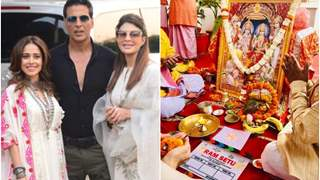 Akshay Kumar seeks blessings from Lord Ram ahead of Ram Setu shoot in Ayodhya