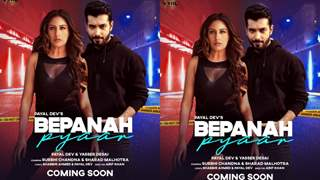 Bepanah Pyaar: Sharad Malhotra and Surbhi Chandna look fierce in music video poster