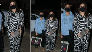 Kareena Kapoor's zebra print outfit grabs eyeballs; steps out with bestie Amrita Arora; see pics!