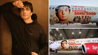 Sonu Sood features on an aircraft as special livery dedicated to honour his noble work