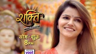 Rubina on her return to Shakti - not here for 3 or 4 episodes, sufficiently long