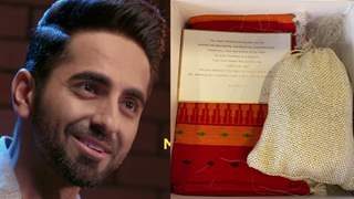 Ayushmann Khurrana takes fans by surprise; Sends them gifts - personalized note: Photos