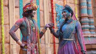 RadhaKrishn: Sumedh Mudgalkar and Mallika Singh come together for a special Holi sequence