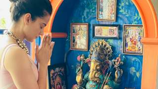 Kangana Ranaut is 'distressed' over rising COVID cases, prays before heading for Tejas shoot