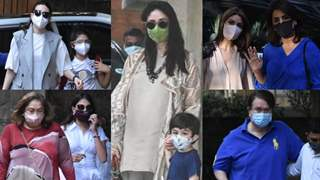 Kapoors shower Kareena's newborn baby with gifts and blessings; Family get together at Pataudi's