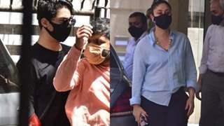 Aryan Khan's hush-hush visit to clinic; Kareena looks chic as she arrives at Karisma's: Photos - Video