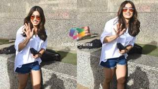 Photos: Rashmika Mandanna shells summer style inspo as she heads to watch her film Sulthan
