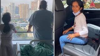 Satish Kaushik's daughter battles COVID-19, returns back home; Pens sweet note after discharge