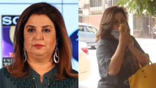 Farah Khan seems irked as she inquires, 'Who recorded me smelling mangoes?'; see video!