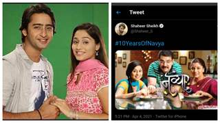 Shaheer Sheikh remembers days of 'Navya' as it completes 10 years