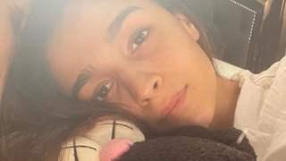 Covid Positive Alia Bhatt has found a snuggle partner during home quarantine, drops new picture