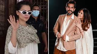 Kangana Ranaut trolled for not wearing mask to dubbing studio; Kishwer-Suyyash bash her