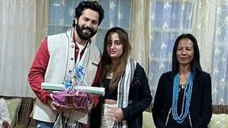 Varun Dhawan & Natasha Dalal donate Rs.1 Lakh to fire victims of Tirap, Arunachal Pradesh: Pics