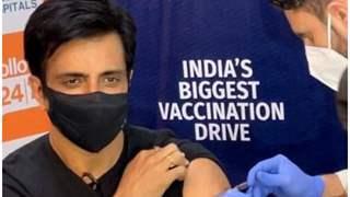 Sonu Sood takes Covid Vaccine; Starts free vaccination drive 'Sanjeevani'